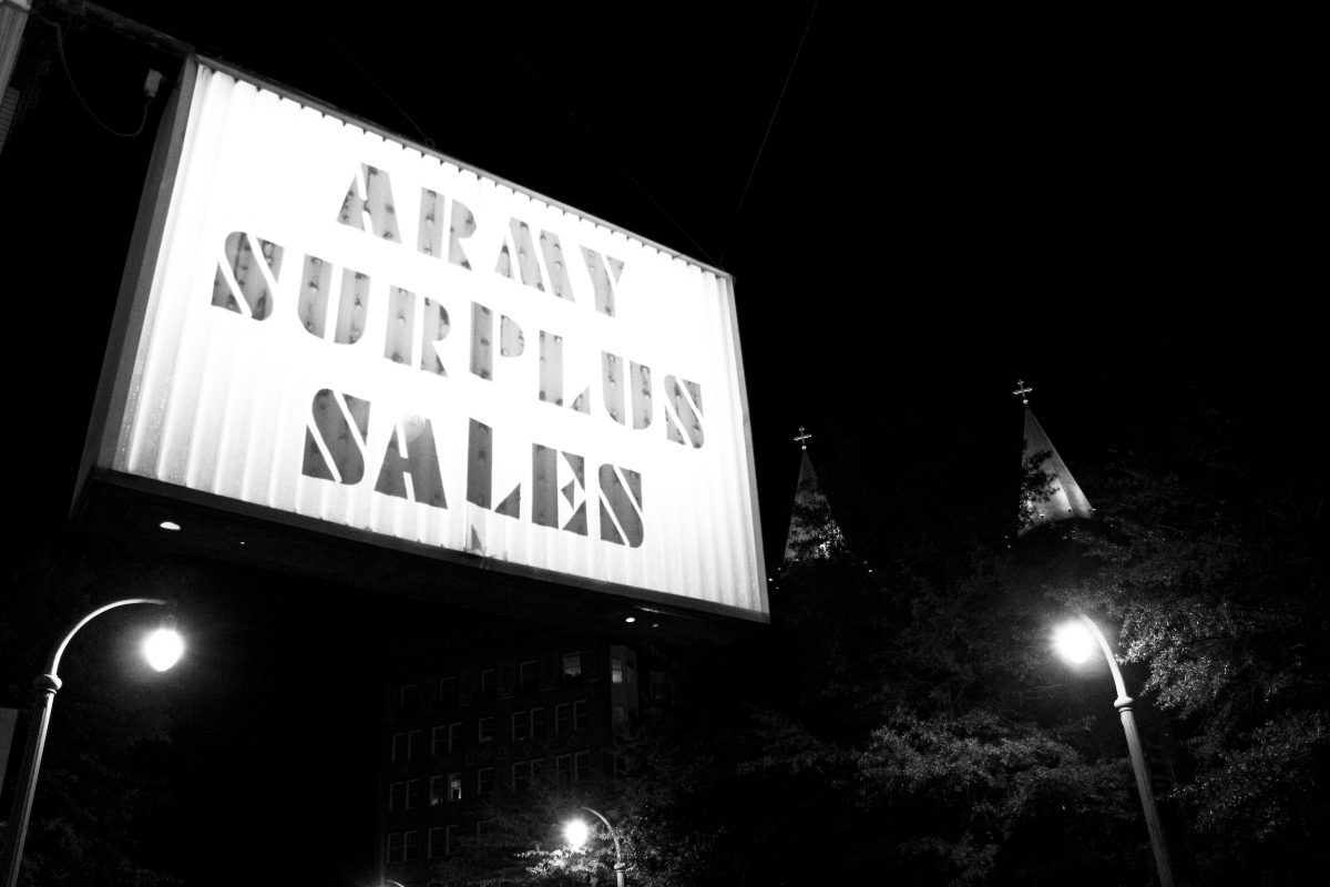 Army Surplus Sales Near Church